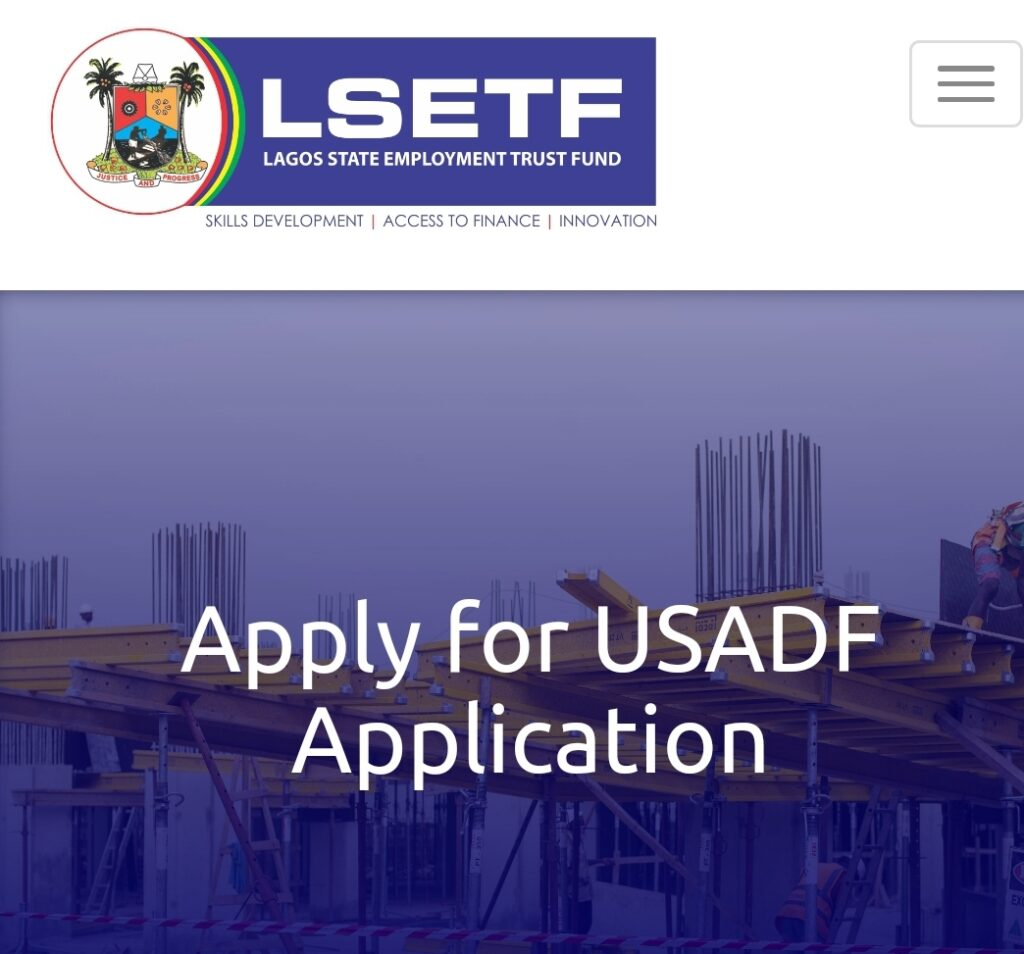 Lagos State Employment Trust Fund/USADF Programme 2020 - Apply Now