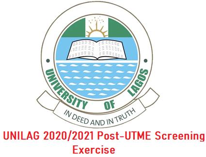 University of Lagos (UNILAG) 2020/2021 Post-UTME Registration