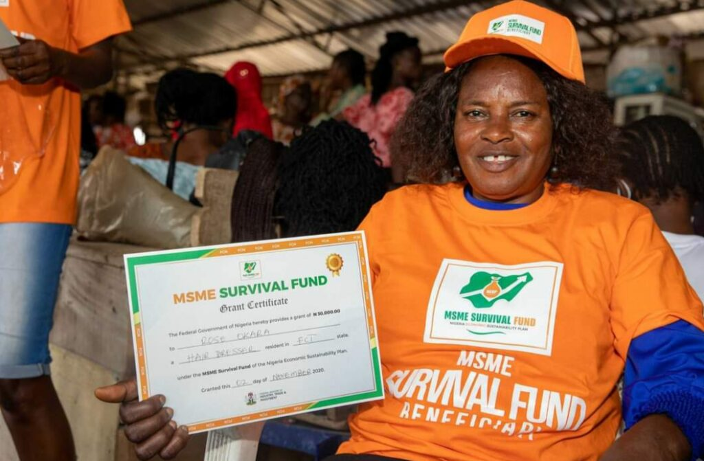 FG Begins MSME Survival Fund Disbursement - Check Here