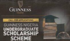 Guiness Nigeria Undergraduate Scholarship Scheme 2020/2021