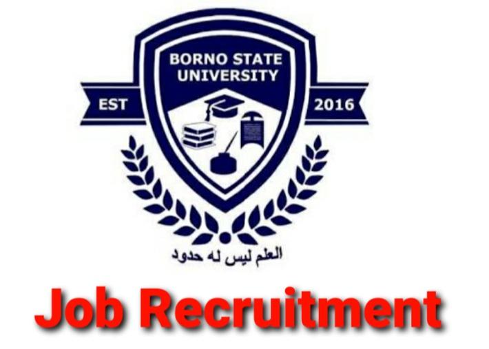 Borno State University Massive Job Recruitments (31 Positions)