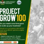 Project Grow 100 Grant Registration Form Portal & How to Apply Online www.youthandsport.gov.ng/project-grow-100