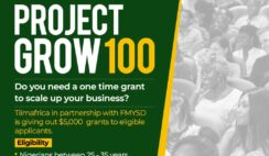 Project Grow 100 Grant Registration Form Portal & How to Apply Online