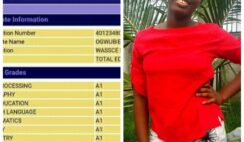 WAEC 2020: Meet Ogwubie Chikemzi Praise who Made Parallel A's in Her WAEC Result