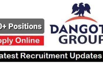 Dangote Group Job Recruitment (73 Positions)