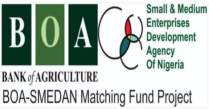 Bank of Agriculture (BOA) SMEDAN Matching Fund Programme (MSEs Loan) - Application Form Portal