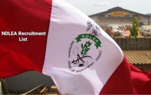 NDLEA Recruitment List of Successful Candidates is Out Online - Check Here
