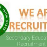 Akwa Ibom State Secondary Education Board Job Recruitment 2021 Application Form Portal