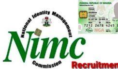 NIMC Recruitment 2021 Registration Form Portal - How to Apply Online