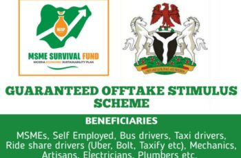 MSME Guaranteed Offtake Stimulus Scheme - How to Apply Online