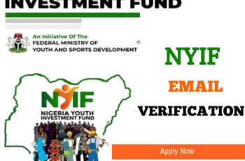 NYIF Email Verification Link: How to Validate Your BVN On NYIF Portal