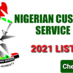 Nigerian Customs Service 2021 List of Successful Candidates is Out Online – Check Here