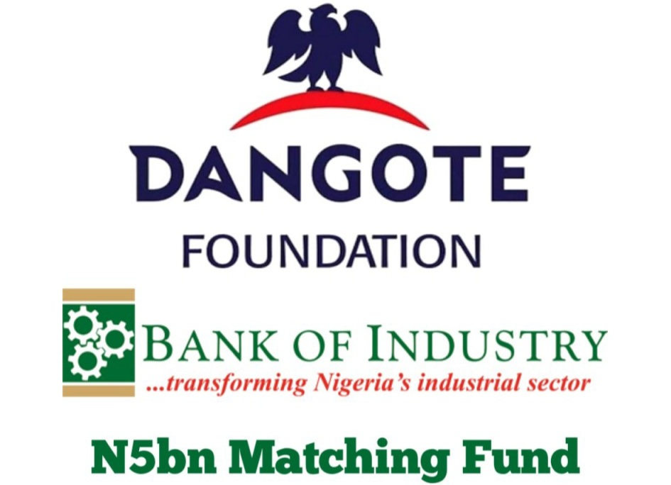 Dangote Foundation/BOI N5bn Matching Fund Application Portal