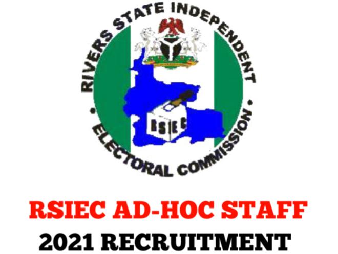 RSIEC AD-HOC Staff Recruitment 2021