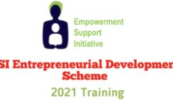 Empowerment Support Initiative | ESI Entrepreneurial Development Training 2021 - Apply Now