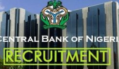 Central Bank of Nigeria (CBN) Nationwide Job Recruitment