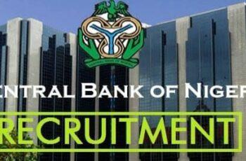 Central Bank of Nigeria (CBN) Nationwide Job Recruitment