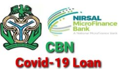 CBN Covid-19 Loan 2021 Portal Reopens for New Applications - Apply Now