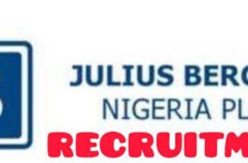 Massive Job Recruitment at Julius Berger Nigeria Plc