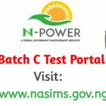 NPower NASIMS Login Portal for Batch C Applicants Assessment Test www.nasims.gov.ng