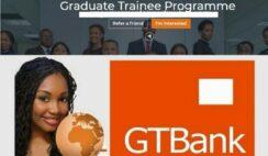 Guaranty Trust Bank Plc (GTB) 2021 Graduate Trainee Recruitment