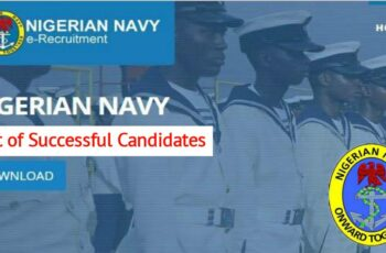 Nigerian Navy List of Shortlisted Candidates for DSSC Course 28