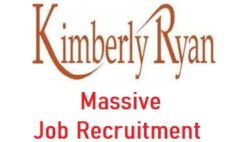 Kimberly Ryan Limited Massive Job Recruitment 2021 - Apply Now