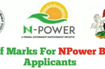 NPower Batch C Test Cut-Off Marks