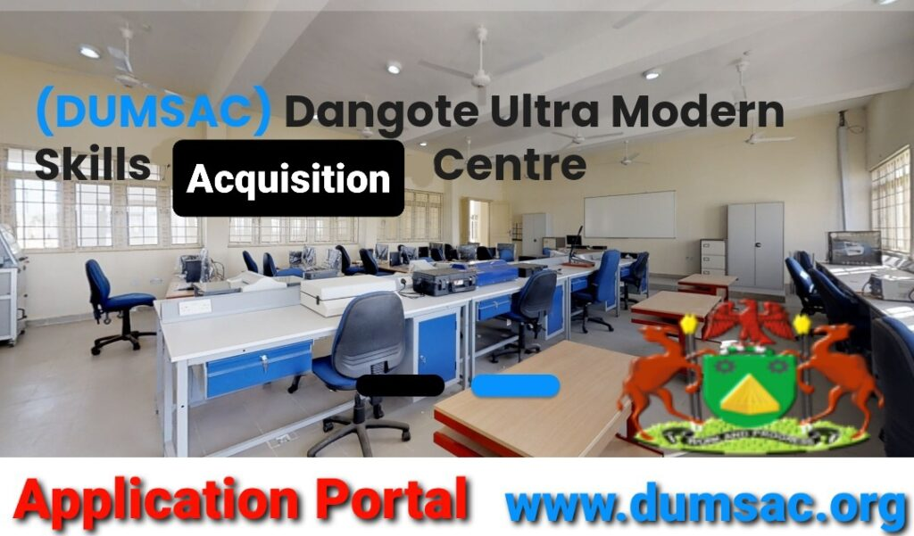 Aliko Dangote Ultra Modern Skills Acquisition 2021 Application Form Portal