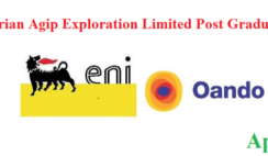 Nigerian Agip Post Graduate Scholarship Award Scheme 2021/2022 - Apply Now