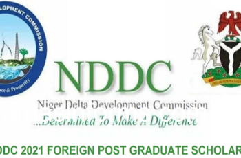 NDDC 2021 Foreign Post Graduate Scholarship - How to Apply for Niger Delta Development Commission