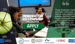 EIT Food Innovator Fellowship 2021 Programme for Young Entrepreneurs