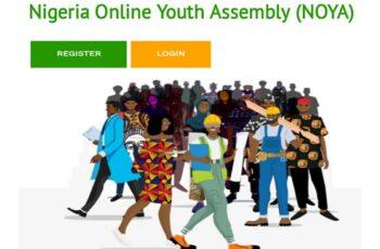 NOYA Application Portal - How to Apply for Nigeria Online Youth Assembly (NOYA)
