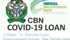 COVID-19 Targeted Credit Facility: How To Resolve Your Loan Disbursement Issues
