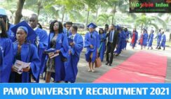 PAMO University Recruitment 2021 for Academic and Non Academic Staff