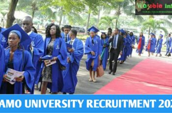 PAMO University Recruitment 2021 for Academic and Non Academic Staff