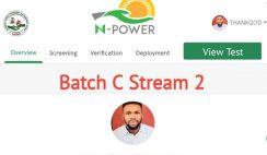 NPower Batch C Stream 2 Biometric Verification to Commence Next Week
