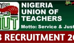 Nigeria Union of Teachers 2021 Recruitment - Apply Now