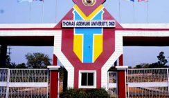 Thomas Adewumi University Massive Job Recruitment 2021