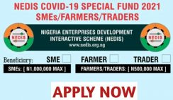 NEDIS Covid-19 Special Fund 2021 Application Portal & How to Apply Online