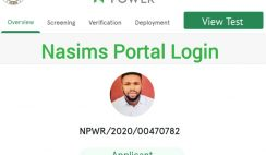 NASIMS Portal Login Issues Resolved, Fingerprint Verification/ Biometric Continues