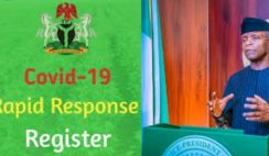 FG Approves State Code for Rapid Response Register (RRR) for Individuals to get Paid N5000 Monthly