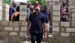 Dr Chidi Lloyd Inspects One of His Administration's Intervention Projects