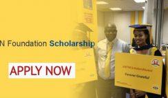 MTN Foundation Scholarship 2021/2022 For Nigerian Undergraduate Students