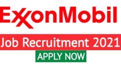 Exxon Mobil Upstream Nigeria Graduate Internship Recruitment 2021