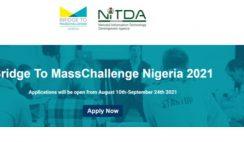 NITDA Bridge To MassChallenge Nigeria 2021 National Startup Competition