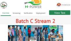 NPower Batch C Stream 2 List, Verification & Deployment