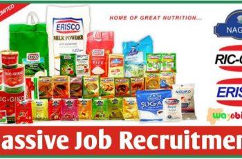 Erisco Foods Limited Massive Job Recruitment