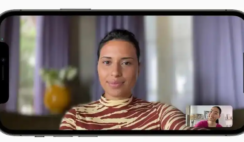 How to blur FaceTime call background