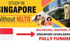 Scholarships In Singapore Without IELTS